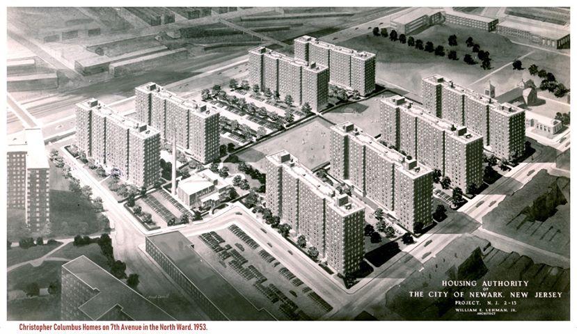 Exterior - christophercolumbushomes12 - Newark Public Housing